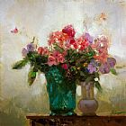 Pino COLORFUL BOUQUET painting